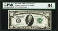 Small Size:Federal Reserve Notes, Double Quad 00002222 Fr. 2000-L $10 1928 Federal Reserve Note. PMG Choice Uncirculated 64.. ...