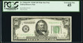Fr. 2106-B* $50 1934D Mule Federal Reserve Note. PCGS Extremely Fine 45