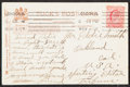 Boxing Collectibles:Autographs, Tommy Burns Signed Postcard. ...