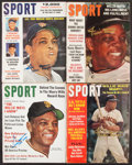Autographs:Photos, Willie Mays Signed Magazines, Lot 4. Offered are ...