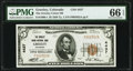Greeley, CO - $5 1929 Ty. 1 The Greeley Union National Bank Ch. # 4437 PMG Gem Uncirculated 66 EPQ
