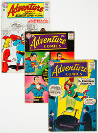 Adventure Comics #248, 256, and 330 Group (DC, 1958-65) Condition: Average VG+.... (Total: 3 Comic Books)