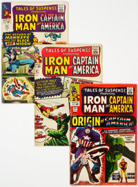 Tales of Suspense/Captain America Group of 17 (Marvel, 1965-70) Condition: Average VG.... (Total: 17 Comic Books)