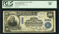 National Bank Notes:North Carolina, Tarboro, NC - $10 1902 Plain Back Fr. 626 The First National Bank Ch. # 8356 PCGS Very Fine 20.. ...