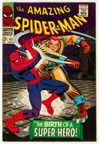 The Amazing Spider-Man #42 (Marvel, 1966) Condition: VF-