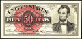 Tim Prusmack Money Art Fr. 1374 50¢ Fourth Issue Lincoln Superb Gem Crisp Uncirculated