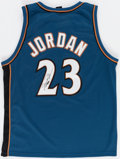 Autographs:Jerseys, Michael Jordan Signed Washington Wizards Jersey - Upper De...