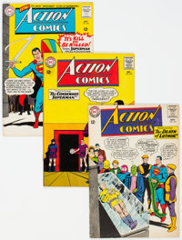 Action Comics Group of 28 (DC, 1964-79) Condition: Average VG/FN.... (Total: 28 Comic Books)