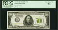 Fr. 2201-K $500 1934 Light Green Seal Federal Reserve Note. PCGS Very Choice New 64