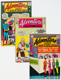 Adventure Comics Group of 15 (DC, 1964-68) Condition: Average FN.... (Total: 15 Comic Books)