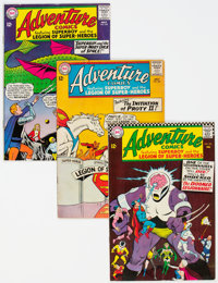 Adventure Comics Group of 21 (DC, 1964-72) Condition: Average VG+.... (Total: 21 Comic Books)