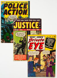 Atlas Crime Comics Group of 5 (Atlas, 1947-54) Condition: Average VG.... (Total: 5 )