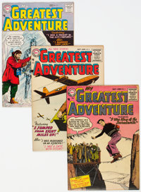 My Greatest Adventure Group of 8 (DC, 1955-59) Condition: Average VG/FN.... (Total: 8 Comic Books)
