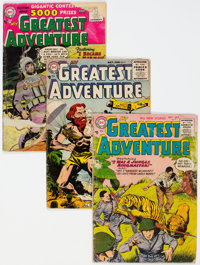 My Greatest Adventure Group of 28 (DC, 1955-62) Condition: Average GD.... (Total: 28 Comic Books)