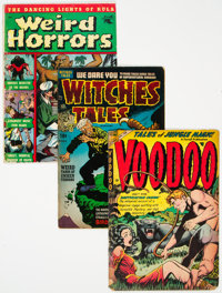 Horror and Mystery Group of 6 (Various, 1952-56) Condition: Average GD-.... (Total: 6 )