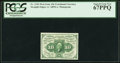Fractional Currency:First Issue, Fr. 1242 10¢ First Issue PCGS Superb Gem New 67PPQ.. ...