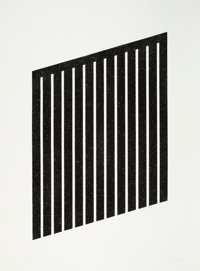 Donald Judd (1928-1994) Untitled, 1978-79 Aquatint on wove paper 35-1/4 x 24-5/8 inches (89.5 x 62.5 cm) (image) 40