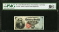 Fractional Currency:Fourth Issue, Fr. 1376 50¢ Fourth Issue Stanton PMG Gem Uncirculated 66 EPQ.. ...