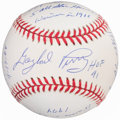 Autographs:Baseballs, Circa 1991 Gaylord Perry Limited Edition Single Signed & Inscribed Stat Baseball....