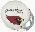 Autographs:Others, Charley Trippi Signed Miniature Helmet. ...