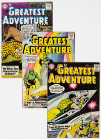 My Greatest Adventure Group of 24 (DC, 1956-63) Condition: Average VG/FN.... (Total: 24 Comic Books)