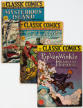 Golden Age (1938-1955):Classics Illustrated, Classic Comics/Classics Illustrated Group of 32 (Gilberton, 1943-69) Condition: Average VG.... (Total: 32 Comic Books)