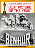 "Movie Posters:Academy Award Winners, Ben-Hur (MGM, 1960). Overall: Very Fine-. Uncut Pressbooks (2) (Multiple Pages, 14"" X 19"") & Press Materials (25) (14"" X 18""... (Total: 27 Items)"