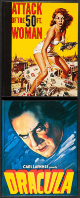 Horror Movie Posters & Other Lot (Bruce Hershenson, 1998). Very Fine/Near Mint. Limited Edition Signed and Numbered...