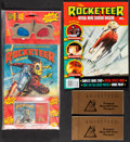 Movie Posters:Action, The Rocketeer (Disney Audio Entertainment, 1991). Very Fine+. 3-D Sight and Sound Comic w/ 3-D Glasses & Cassette Tape in Or... (Total: 4 Items)