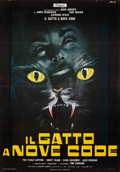 "Movie Posters:Horror, Cat O' Nine Tails (Titanus, 1971). Folded, Very Fine. Full-Bleed Italian 2 - Fogli (39.25"" X 55"") Franco Picchioni Artwork. ..."