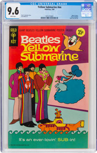 Movie Comics: Yellow Submarine (Gold Key, 1969) CGC NM+ 9.6 White pages