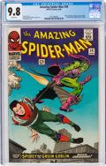 Silver Age (1956-1969):Superhero, The Amazing Spider-Man #39 (Marvel, 1966) CGC NM/MT 9.8 White pages....