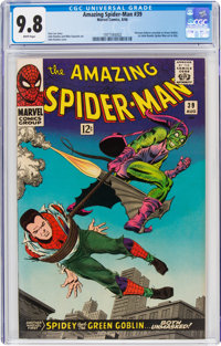 The Amazing Spider-Man #39 (Marvel, 1966) CGC NM/MT 9.8 White pages