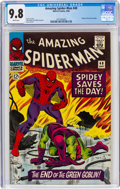 Silver Age (1956-1969):Superhero, The Amazing Spider-Man #40 (Marvel, 1966) CGC NM/MT 9.8 White pages....