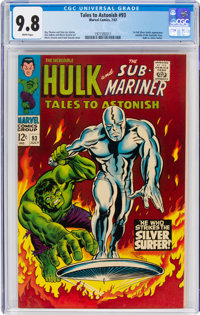 Tales to Astonish #93 (Marvel, 1967) CGC NM/MT 9.8 White pages