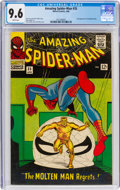 Silver Age (1956-1969):Superhero, The Amazing Spider-Man #35 (Marvel, 1966) CGC NM+ 9.6 White pages....