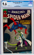 Silver Age (1956-1969):Superhero, The Amazing Spider-Man #44 (Marvel, 1967) CGC NM+ 9.6 Off-white to white pages....