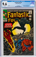 Silver Age (1956-1969):Superhero, Fantastic Four #52 (Marvel, 1966) CGC NM+ 9.6 White pages....