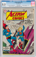 Silver Age (1956-1969):Superhero, Action Comics #252 (DC, 1959) CGC VF+ 8.5 Off-white pages....