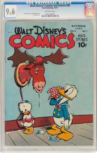 Walt Disney's Comics and Stories #85 (Dell, 1947) CGC NM+ 9.6 Off-white pages