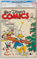 Golden Age (1938-1955):Cartoon Character, Walt Disney's Comics and Stories #4 (Dell, 1941) CGC FN- 5.5 Cream to off-white pages....
