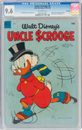 Golden Age (1938-1955):Cartoon Character, Uncle Scrooge #8 File Copy (Dell, 1954) CGC NM+ 9.6 Off-white pages....
