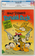 Golden Age (1938-1955):Cartoon Character, Four Color #199 Donald Duck - File Copy (Dell, 1948) CGC NM+ 9.6 White pages....