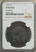 1799 $1 7x6 Stars -- Plugged -- NGC Details. VF. Mintage 423,515. ...(PCGS# 6878)