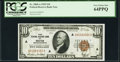 Small Size:Federal Reserve Bank Notes, Fr. 1860-A $10 1929 Federal Reserve Bank Note. PCGS Very Choice New 64PPQ.. ...