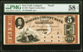 Obsoletes By State:New York, Lockport, NY- Niagara County Bank $5 July 1, 1856 as G8a Proof PMG Choice About Unc 58 EPQ.. ...