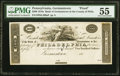 Germantown, PA- Bank of Germantown $500 181_ UNL Proof PMG About Uncirculated 55