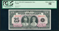 World Currency, Canada Bank of Canada $25 6.5.1935 Pick 48 BC-11 Commemorative Issue PCGS Choice About New 58.. ...