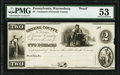 Obsoletes By State:Pennsylvania, Waynesburg, PA- Treasurer of Greene County $2 18__ Proof Hoober UNL PMG About Uncirculated 53.. ...