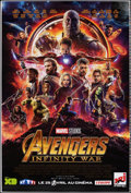 """Movie Posters:Action, Avengers: Infinity War (Walt Disney Pictures, 2018). Rolled, Very Fine+. Printer's Proof French Poster (46.75"""" X 69"""") DS Adv..."""